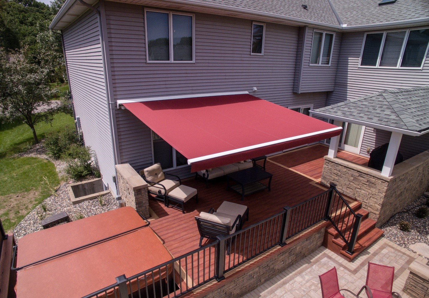 Maximize the Benefits of a Retractable Awning